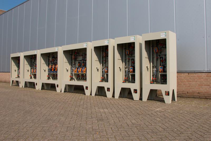 Kunststof leidingsystemen en doseerinstallaties