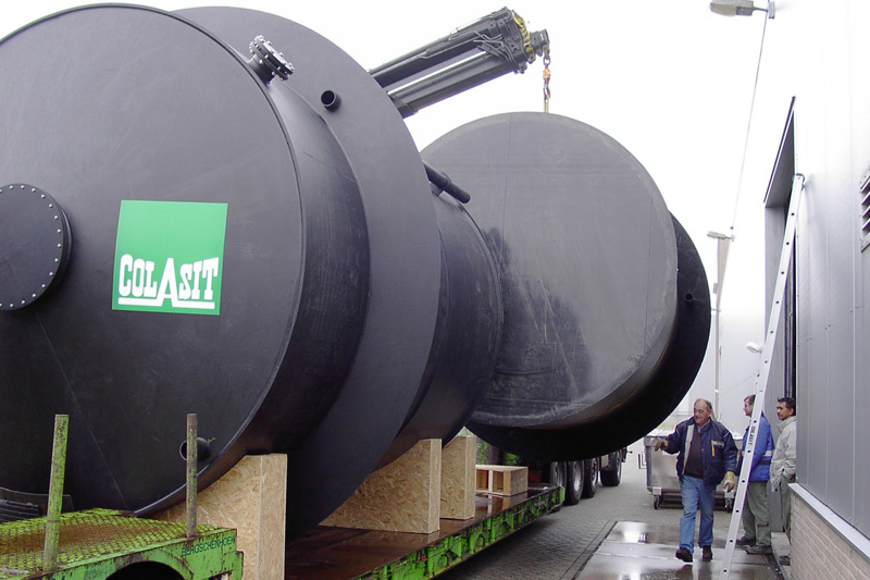 Kunststof opslagtanks